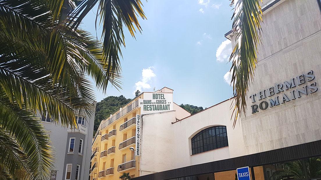 Hôtel Restaurant des Bains et des Gorges à Amélie les Bains